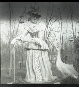 "Fantasy Land''s famous ""Mother Goose"" statue."